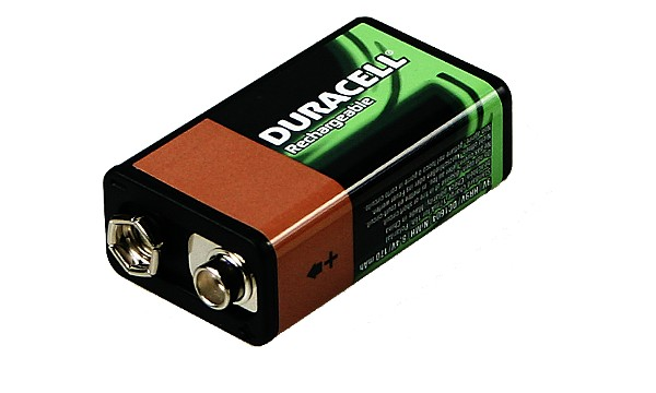 Duracell Rechargeable 9V 3 Stk.