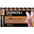 Duracell Plus Power AAA Pack von 16 Batterien