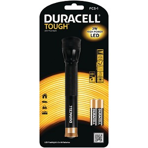 Torche LED Duracell Focus Beam & 2AA