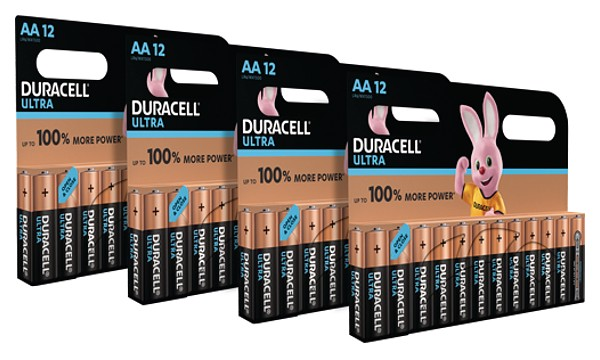 Duracell Ultra AA - 48 Pack