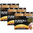 Duracell Plus Power 9v PP3 Pack de 12