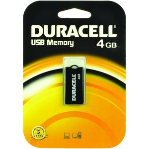Duracell 4gb 'On the Go'USB Memory