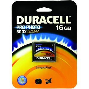 Scheda Duracell 16gb Pro-Photo 600x CF