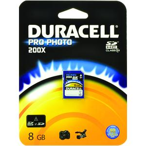 Scheda Duracell 8gb Pro-Photo