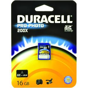 Duracell 16gb Pro-Photo SD Card