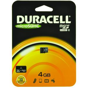 Duracell 4GB Micro SD Card